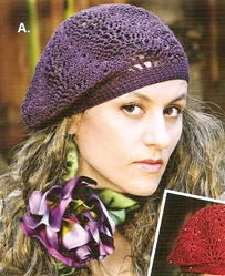 Buttercup Beret Knitting Pattern : FREE HAND KNITTING BERET PATTERNS FREE PATTERNS